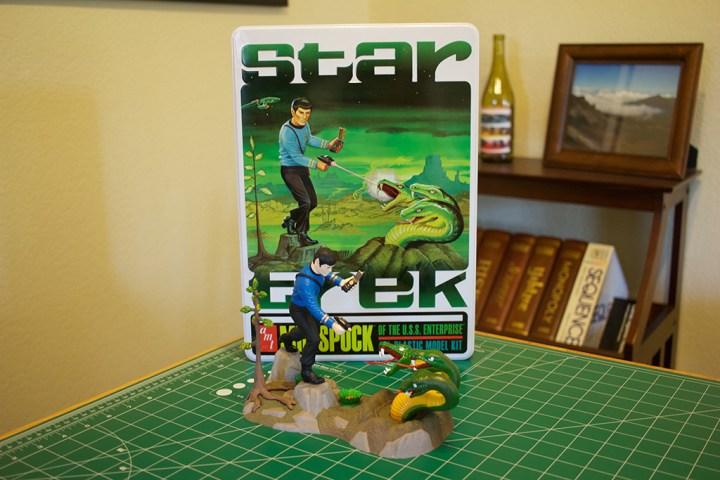 "My completed ""Mr. Spock"" model."