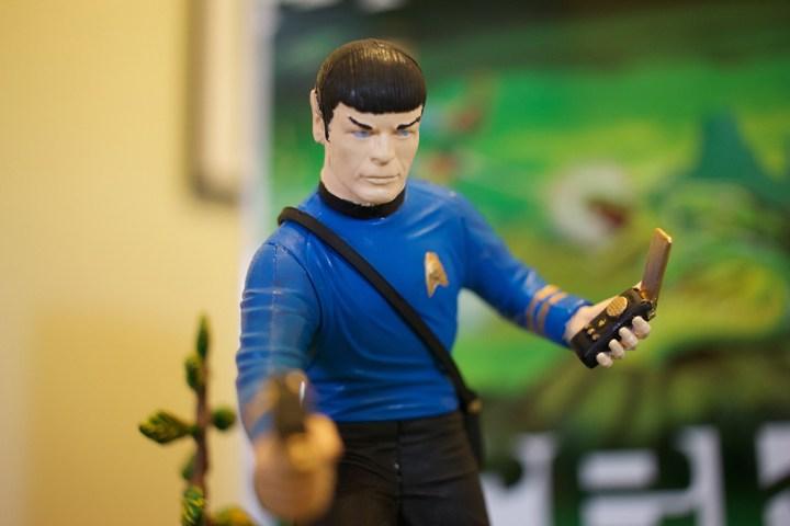 "Mr. Spock from the ""Mr. Spock"" model kit."