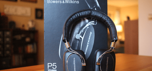 Bowers & Wilkins P5 On-Ear Headphones, with box.