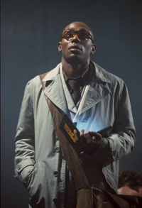 Mos Def as Ford Prefect in The Hitchhikers Guide to the Galaxy movie (2005)