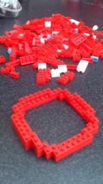 Pixel Bricks Blinky Base Built Up
