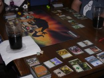 A massive game of Magic: the Gathering was had
