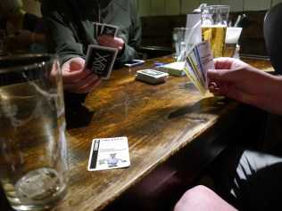 A great big game of Flux was played