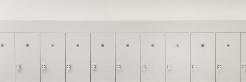 arrival--lockers