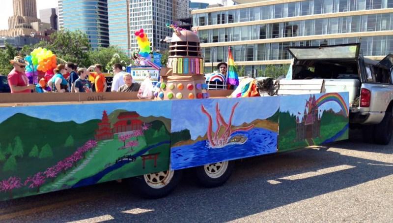 Daleks on Floats!