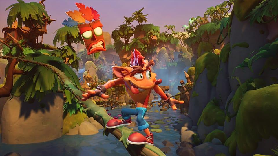 Crash Bandicoot 4 - 1