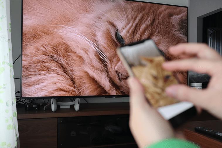 iphoneの画面をテレビへ接続