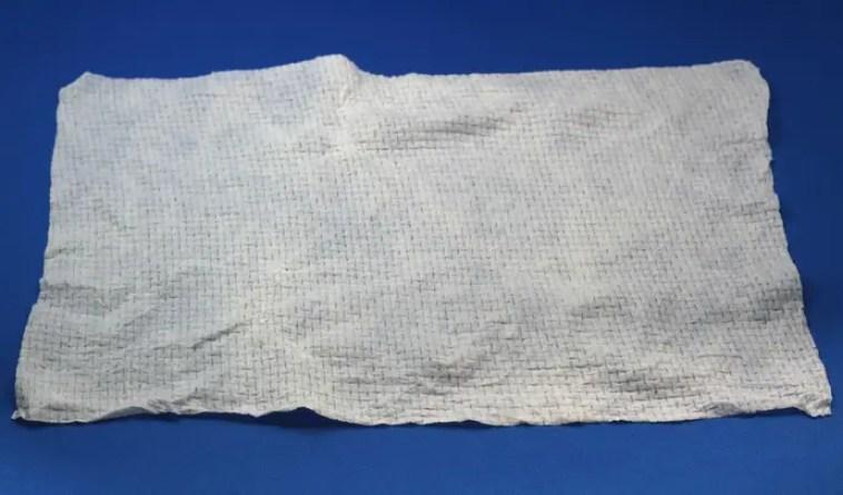 圧縮タオルの大きさ