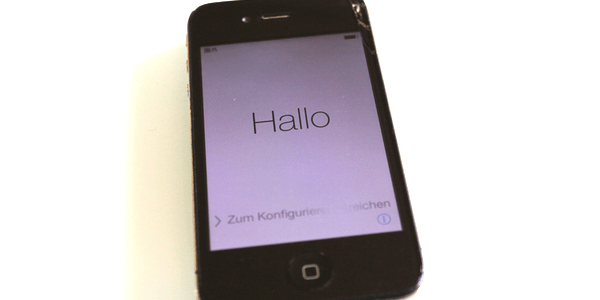 iPhone4をセットアップ