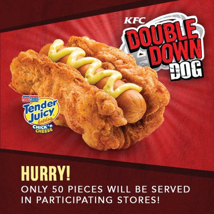 kfc-double-down-dog-cachorro-quente-frango-frito-blog-geek-publicitario