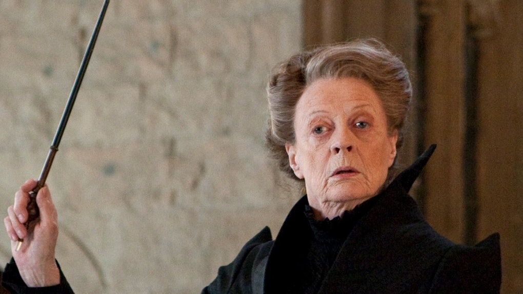 Professor McGonagall - Strict