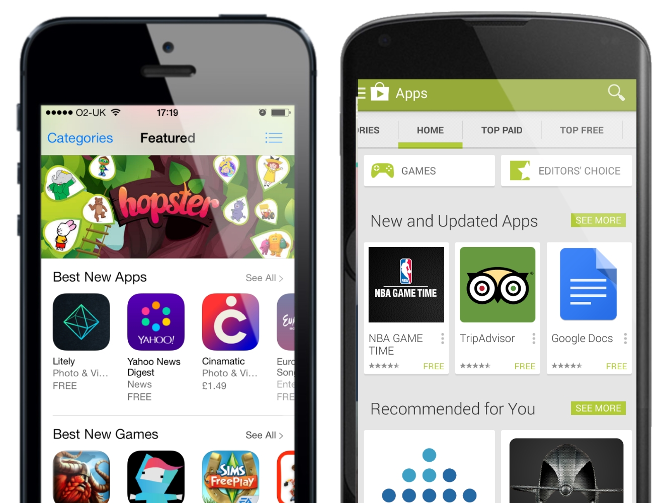 Google Play turns out to have more apps than iOS App Store – Geek Reply