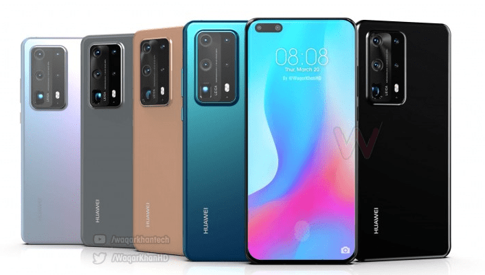 Huawei P40 PRO full specification price in India
