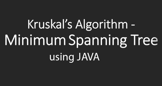kruskal-algorithm
