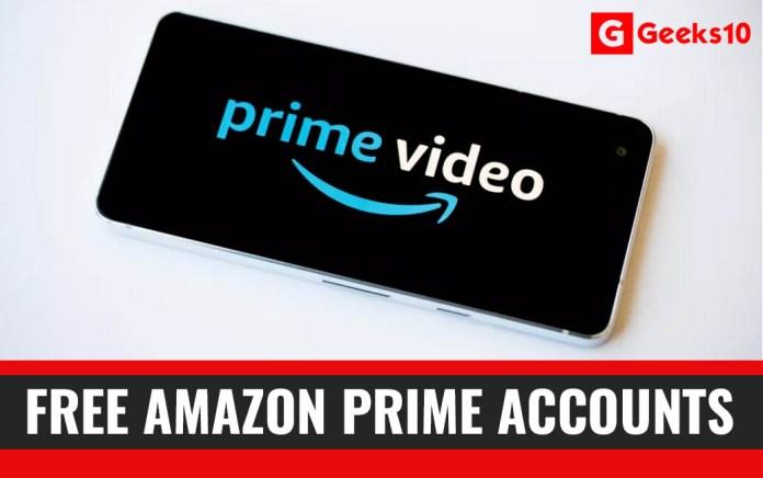 Free Amazon Premium Prime Accounts 2020 (100% Working)