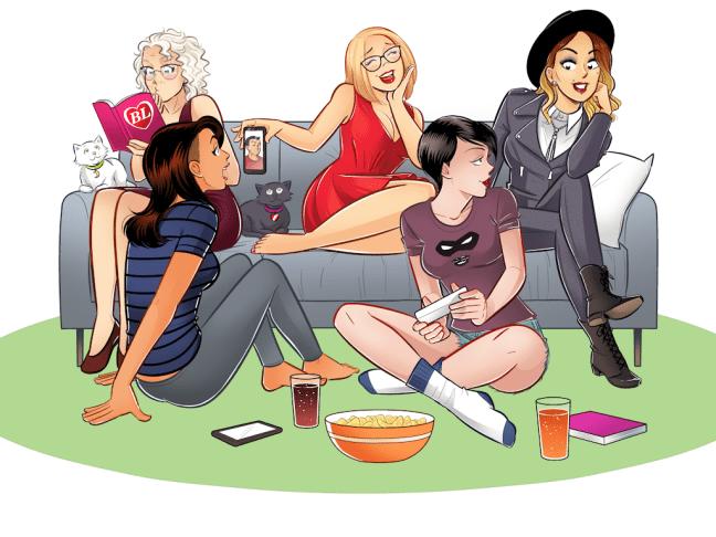image source: Kickstarter - Secret Loves of Geek Girls