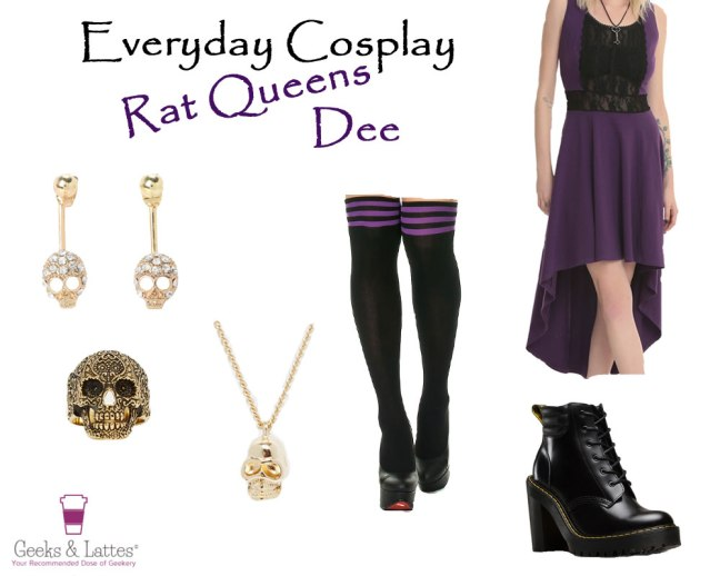 Everyday-Cosplay-Rat-Queens-Dee