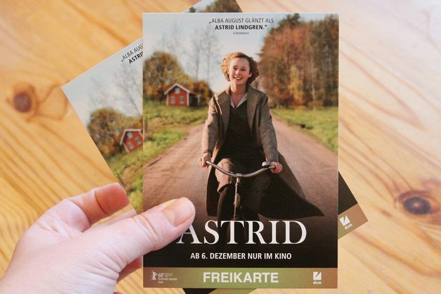 Kinokarten für Astrid. Foto: Lilli/geek's Antiques