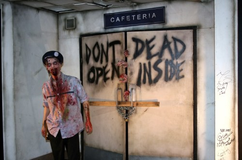 The Walking Dead Cosplayer auf der Comic Con Dortmund. Foto: Lilli/geek's Antiques