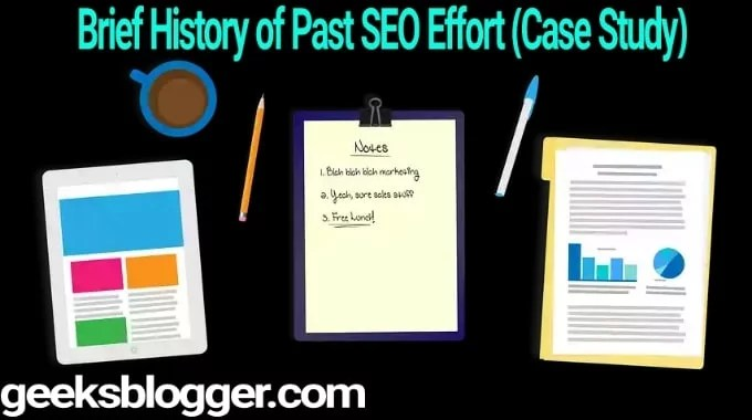 Past SEO Efforts on Googlebot