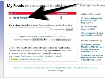 How to Easily Move A Feedburner Feed to Another Account 1