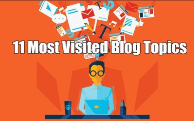 11 Most Visited Blog Topics