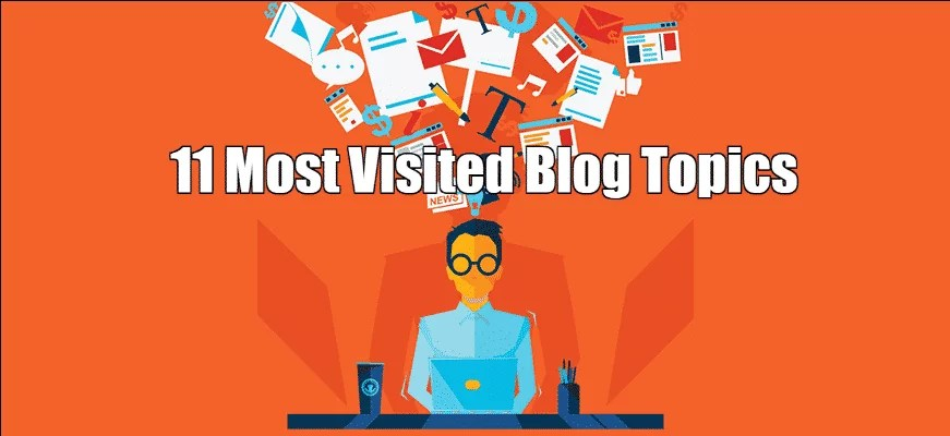 Most Visited Blog Topics