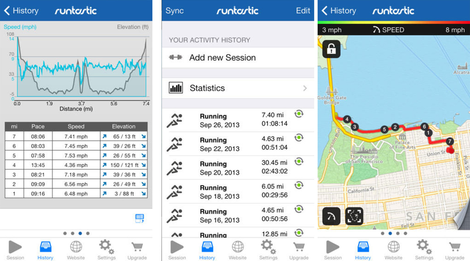 Best run tracking apps for iPhone: Runtastic