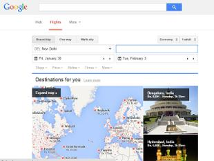 flight search tool google