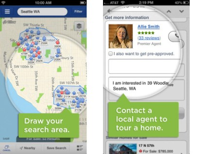 zillow real estate apps