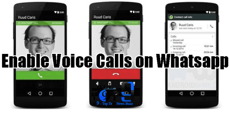 whatsapp voice calls