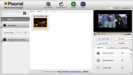 nice online video editor