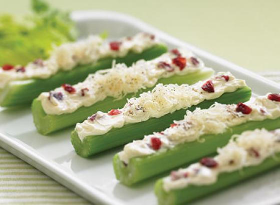 Celery Sticks with Cream Cheese