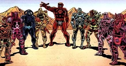 The celestials marvel comics