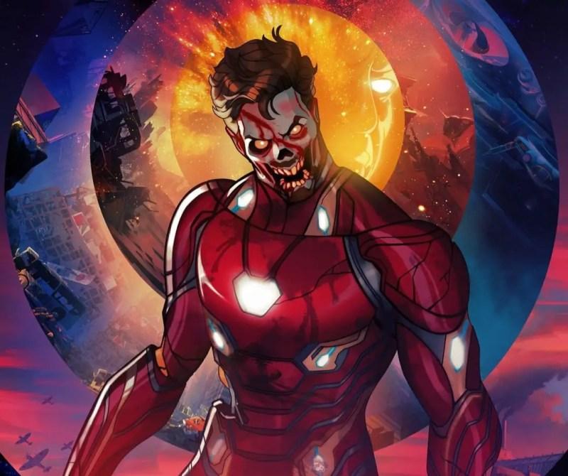 Marvel Zombies Iron Man