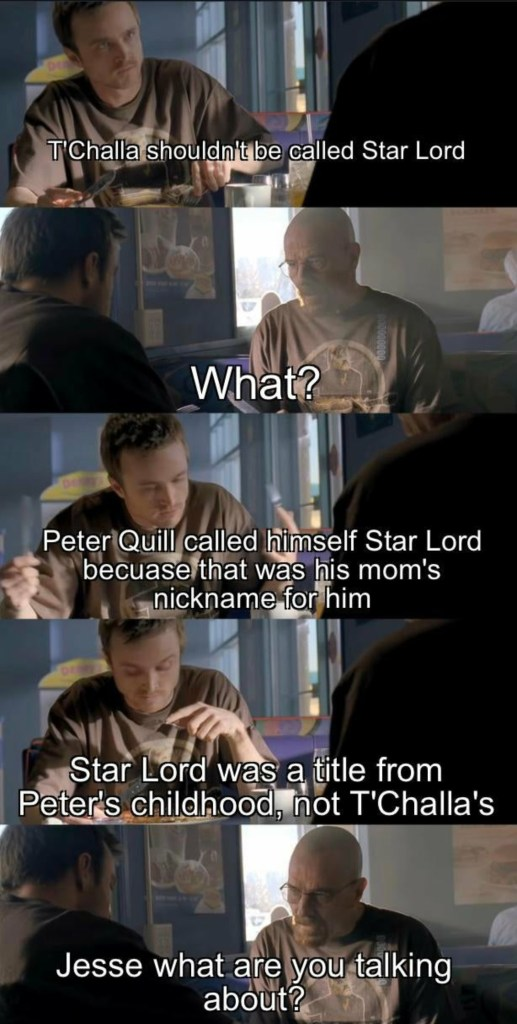 What If memes starlord