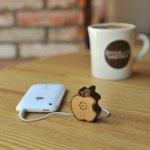 Tiny Wooden Apple Speaker