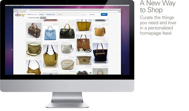 new ebay design