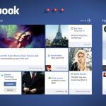 Facebook on Windows 8 – Concept