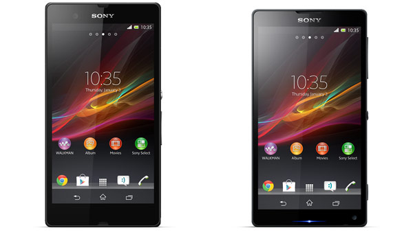 xperia 2013 z and zl