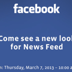 Facebook To Reveal Redesigned News Feed This Week