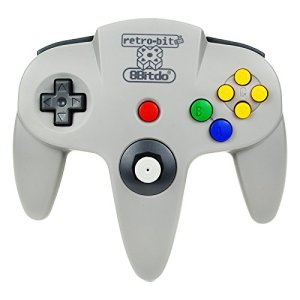 8Bitdo-N64-Bluetooth-Controller-PCMac-OSNintendo-Wii-UPS3Electronic-Games-0