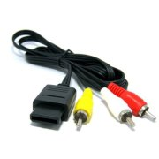 Assecure-replacement-composite-AV-TV-cable-lead-for-Super-NintendoGamecube64-Super-Famicom-Snes-GC-NGC-N64-0-0