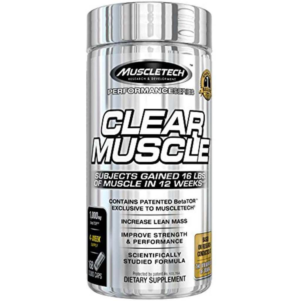 muscle tech clear muscle review