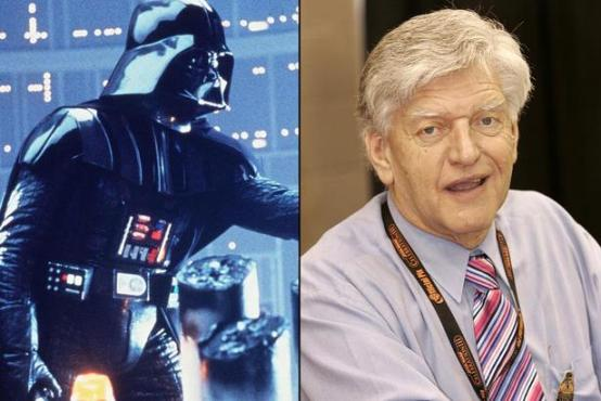 David Prowse and Darth Vader