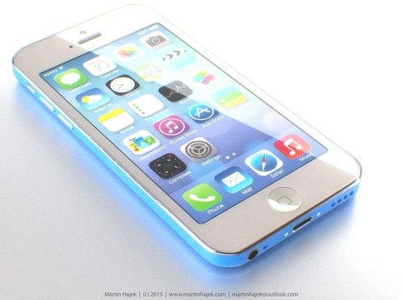 Possible Render of the low cost iPhone 5