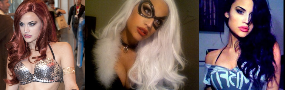 Where is Black Cat Cosplay Girl, Mandy Caruso?