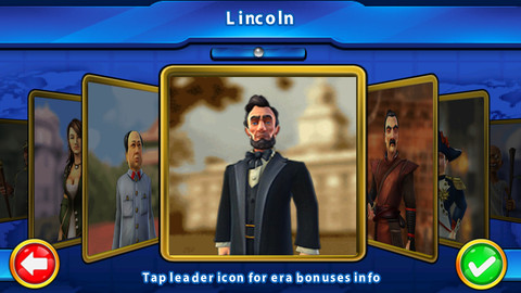 iPhone Screenshot for Civilization Revolution