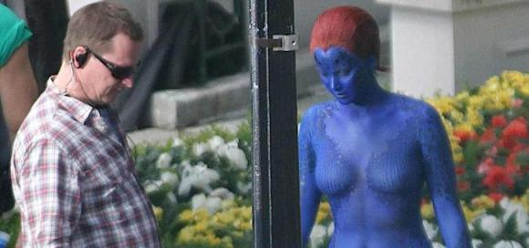 Jennifer Lawrence as Mystique in X-Men:Days of Future Past