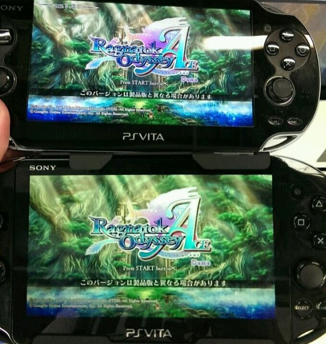 The new PS Vita vs old PS Vita
